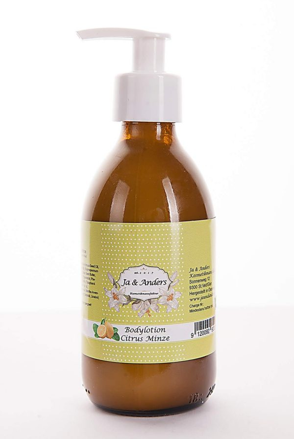Citrus Minze Bodylotion